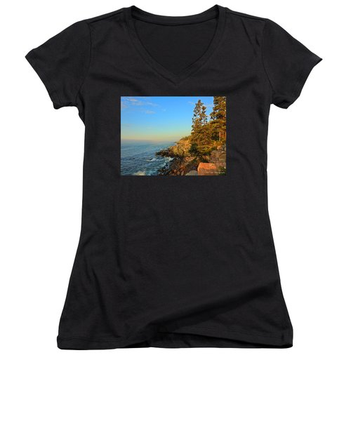 Sun-kissed Coast Women's V-Neck