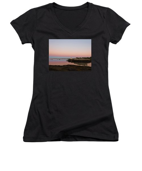 Sunrise Spillover Women's V-Neck