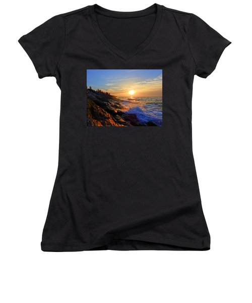 Sunrise Surf Women's V-Neck