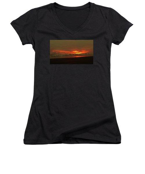 Sunset #5 Women's V-Neck
