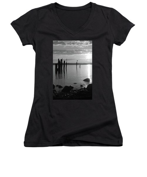 Sunset Beach Women's V-Neck