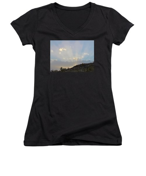 Suntensed Women's V-Neck