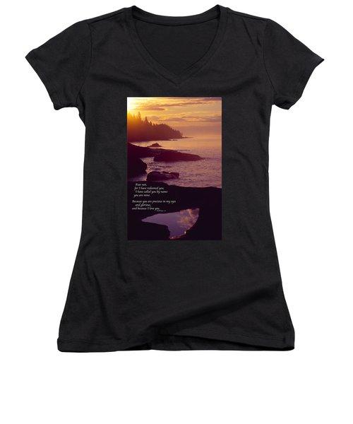 Superior Sunrise Women's V-Neck T-Shirt