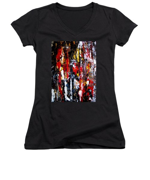 Surreal  Women's V-Neck (Athletic Fit)