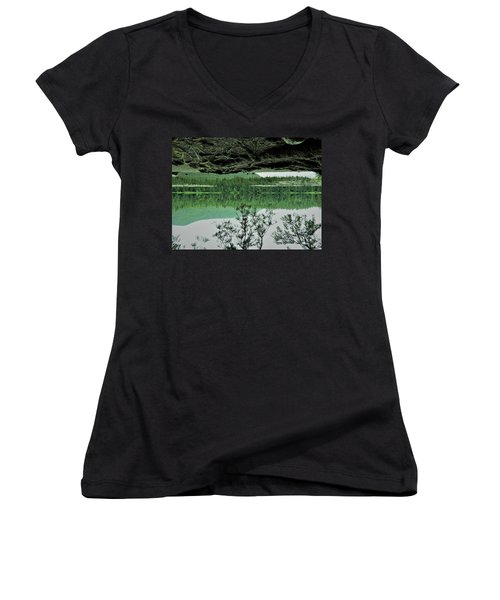 Surreal Women's V-Neck T-Shirt