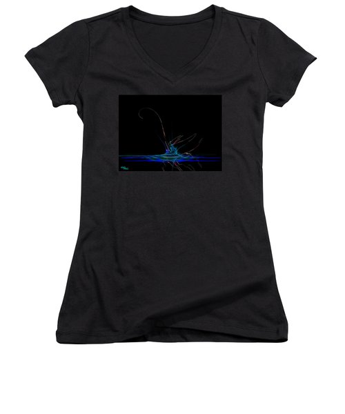 Taking Flight Women's V-Neck T-Shirt