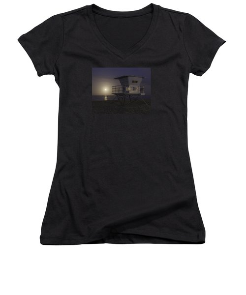 Tamarack Moonset Women's V-Neck (Athletic Fit)