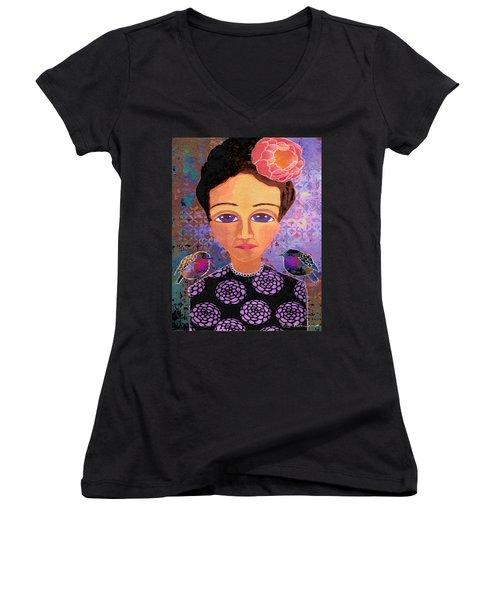 Telling Secrets Women's V-Neck T-Shirt
