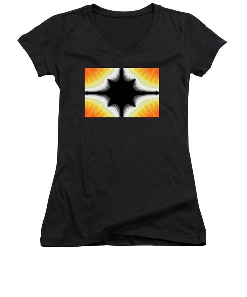Fractal 7 Center 2x3 Women's V-Neck