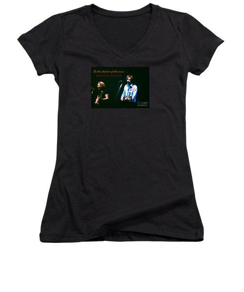 Terrapin Station - Grateful Dead Women's V-Neck T-Shirt (Junior Cut) by Susan Carella
