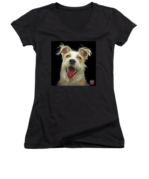 Terrier Mix 2989 - Bb Women's V-Neck (Athletic Fit)