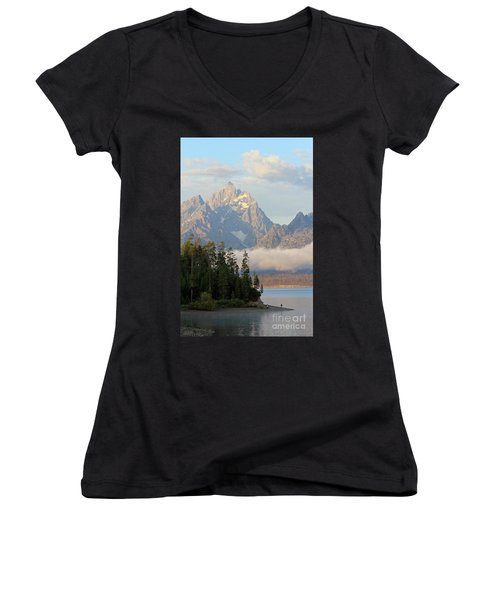 Teton Early Morning Women's V-Neck (Athletic Fit)