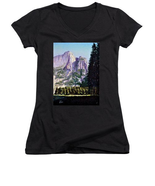 Tetons Women's V-Neck (Athletic Fit)