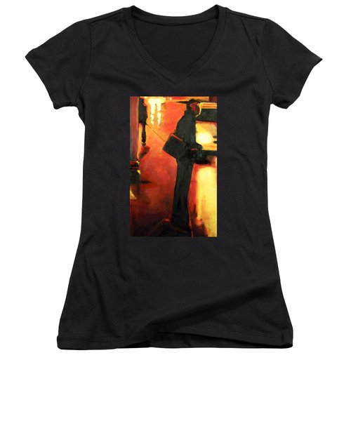 That First Step Women's V-Neck