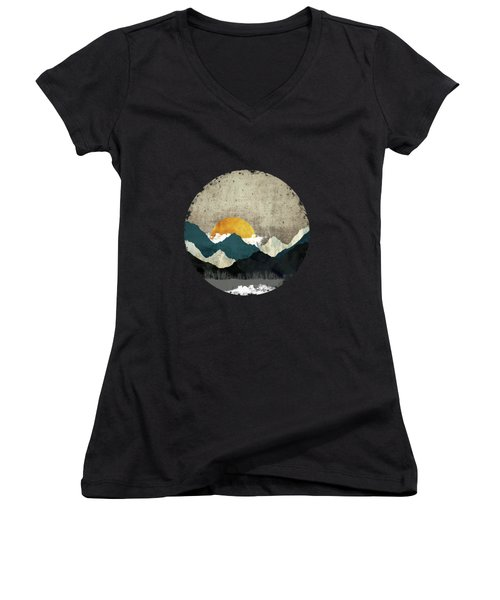 Thaw Women's V-Neck T-Shirt (Junior Cut) by Katherine Smit