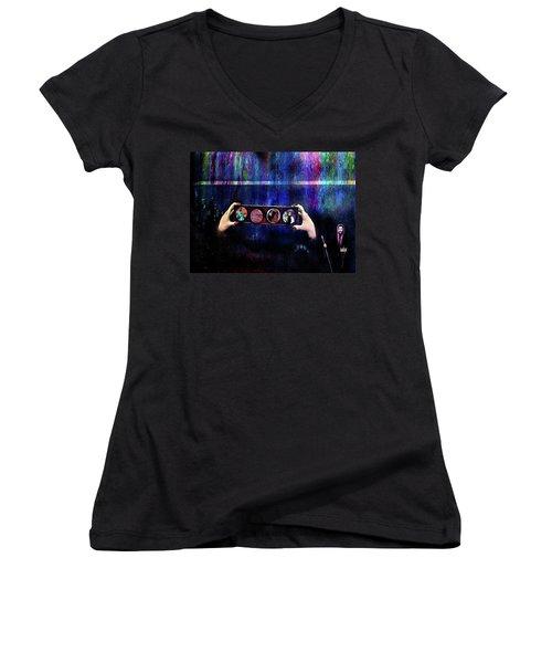 The 4 Horsemen Of The Apocalypse Women's V-Neck T-Shirt