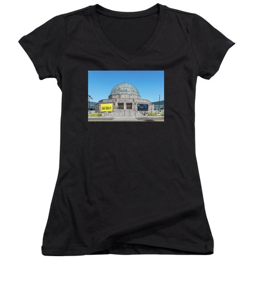 The Adler Planetarium Women's V-Neck