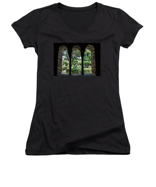 The Ancient Cloister Women's V-Neck