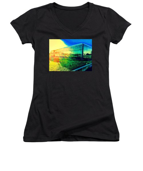 The Aura Of 5.4.7 Gallery Women's V-Neck