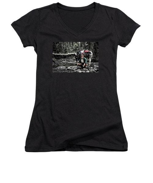 The Back Country Guardian Women's V-Neck