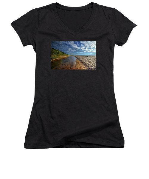 The Beach Women's V-Neck (Athletic Fit)