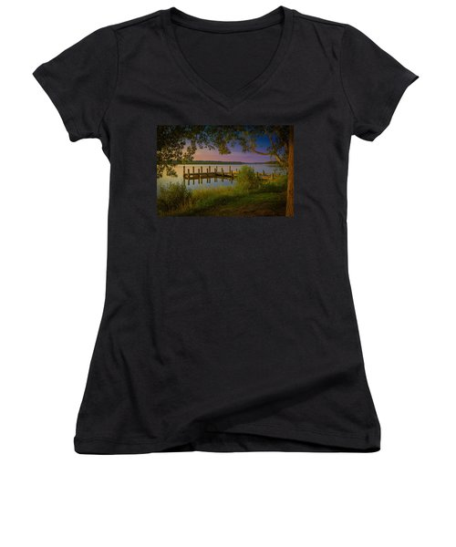 The Beautiful Patuxent Women's V-Neck