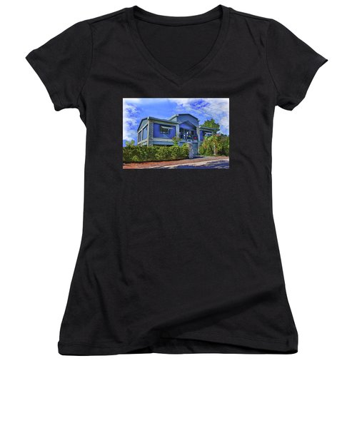 The Big House Women's V-Neck (Athletic Fit)