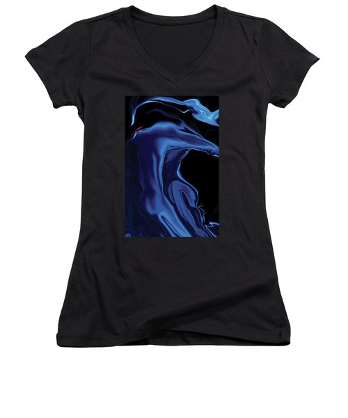 The Blue Kiss Women's V-Neck T-Shirt
