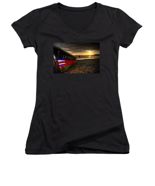 The Bold Women's V-Neck (Athletic Fit)