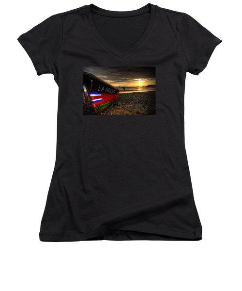 The Bold Women's V-Neck T-Shirt