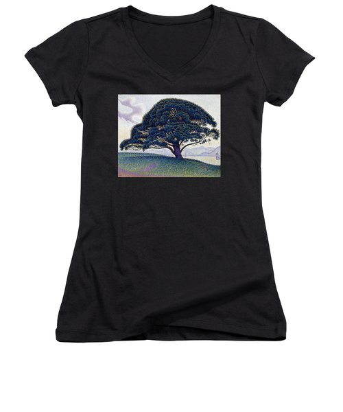 The Bonaventure Pine  Women's V-Neck