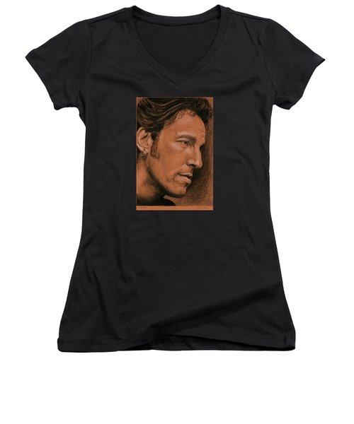 The Boss Women's V-Neck T-Shirt