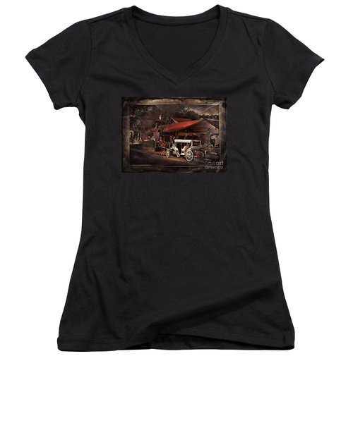 The Carriage Women's V-Neck T-Shirt