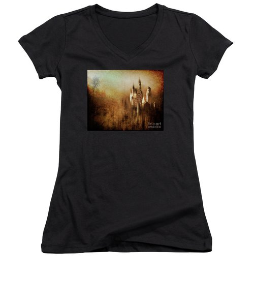 The Castle Women's V-Neck