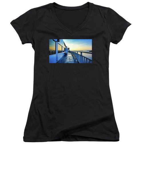The Chi-cheemaun Women's V-Neck