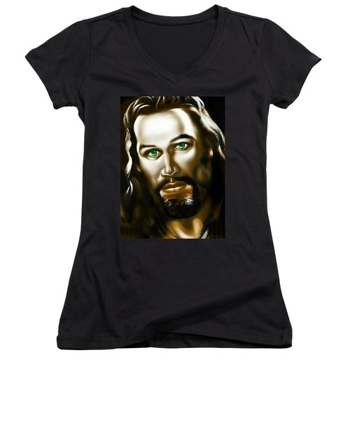 The Compassionate One 2 Women's V-Neck T-Shirt