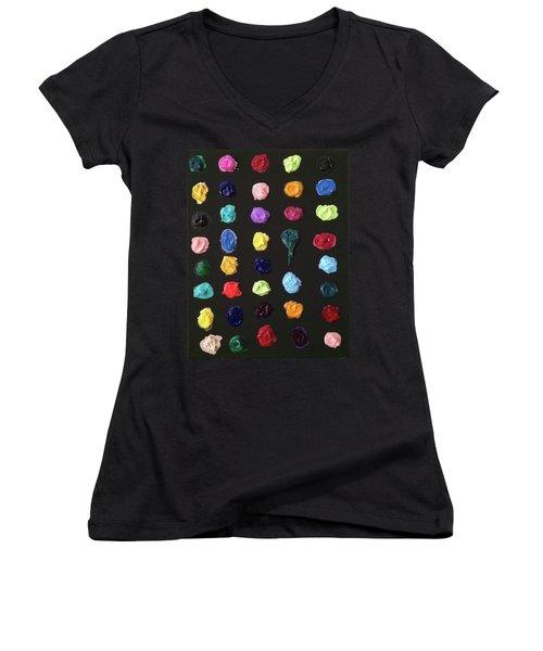 The Destruction Of Earth Women's V-Neck T-Shirt