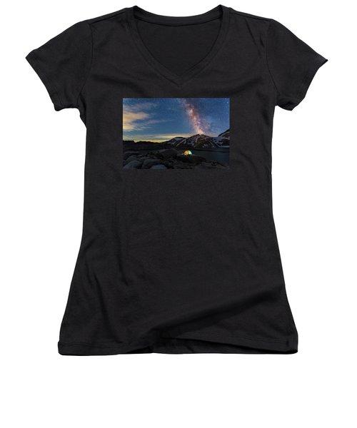 Mountain Trekking Women's V-Neck T-Shirt