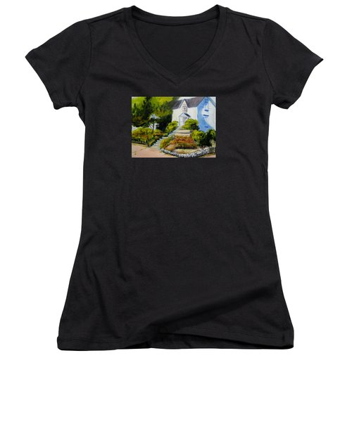 The Eureka Heritage Society Women's V-Neck (Athletic Fit)