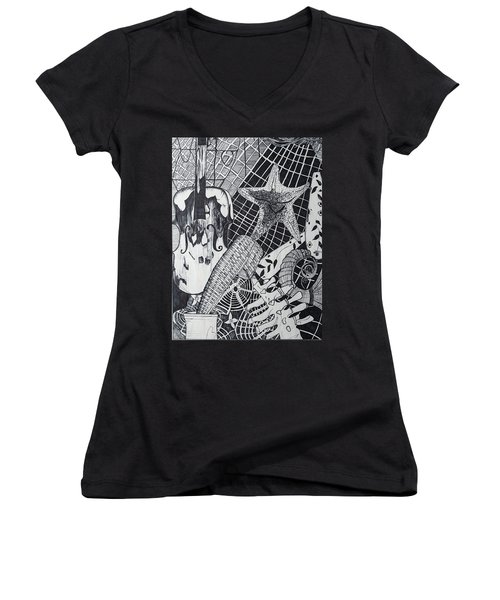 The Experiment Women's V-Neck (Athletic Fit)