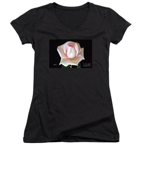 The Gift Women's V-Neck T-Shirt (Junior Cut) by Jeannie Rhode