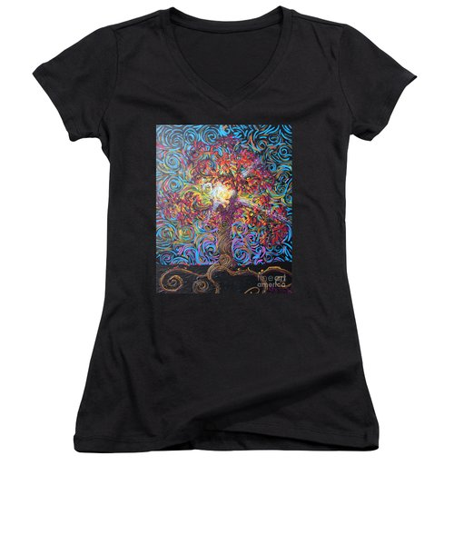 The Glow Of Love Women's V-Neck