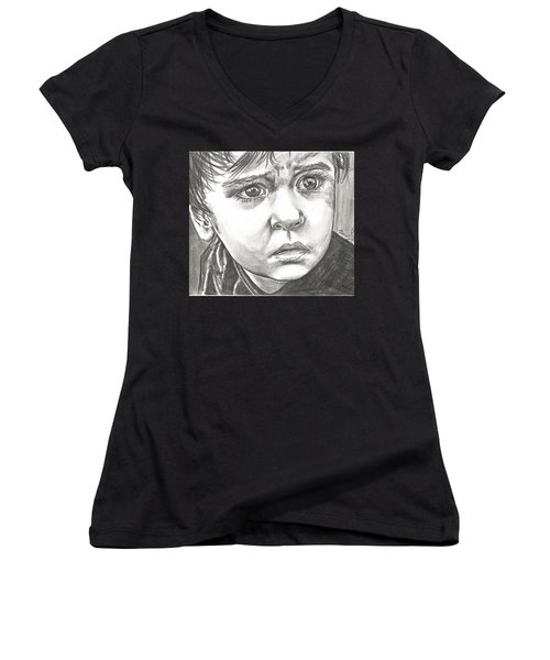 The Happening Women's V-Neck (Athletic Fit)