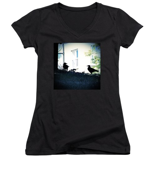 The Hitchcock Moment Women's V-Neck
