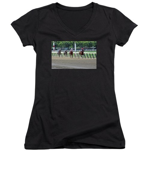 The Home Stretch Women's V-Neck (Athletic Fit)