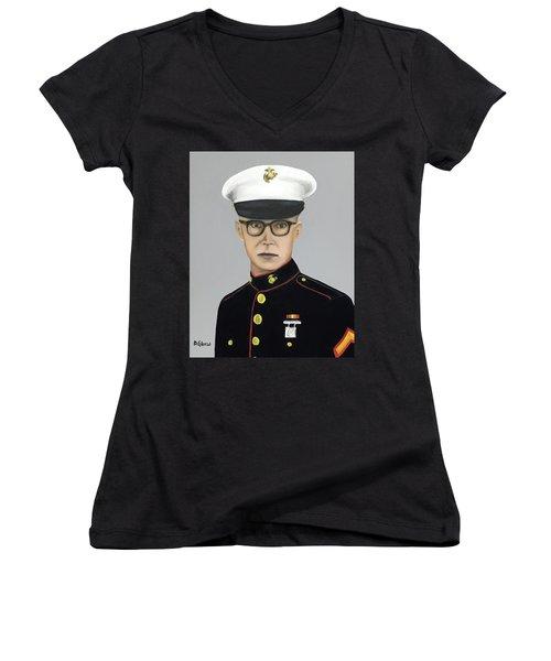 The Idafab Kid Women's V-Neck T-Shirt