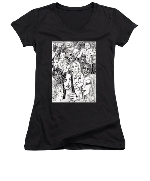 The In Crowd Women's V-Neck