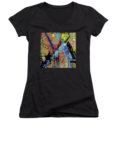 The Infinities Of The Unconditioned Women's V-Neck T-Shirt