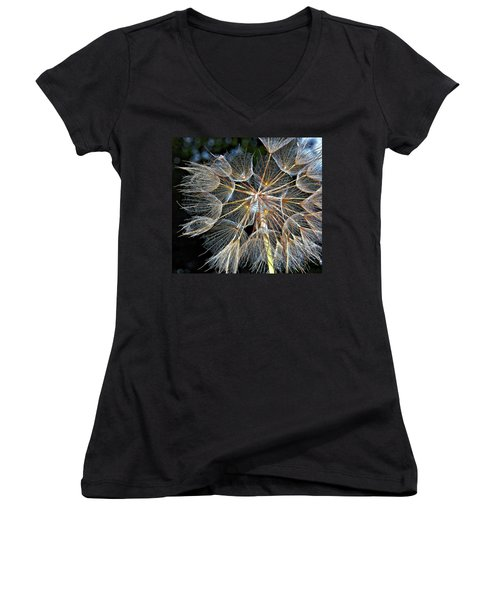 The Inner Weed Women's V-Neck (Athletic Fit)