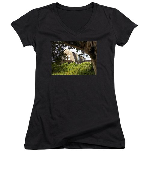 The John Dubois House Women's V-Neck (Athletic Fit)